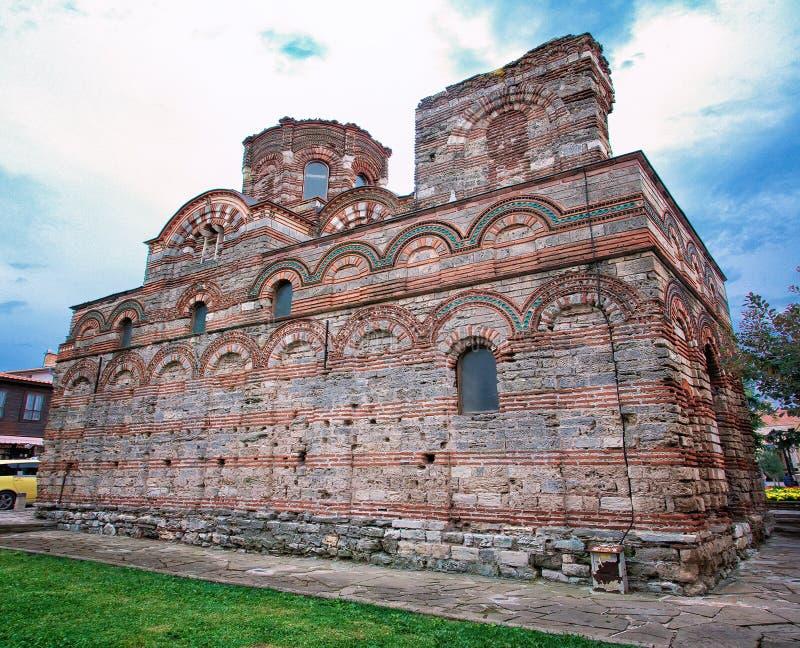  Ð?бър, patrimonio mondiale del  Ð?Ñ di Nesebar Ð dell'Unesco fotografie stock libere da diritti