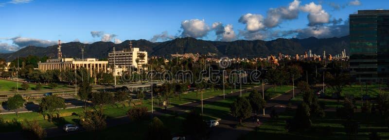 ¡ Colômbia de Bogotà da vista geral da LATA imagens de stock royalty free
