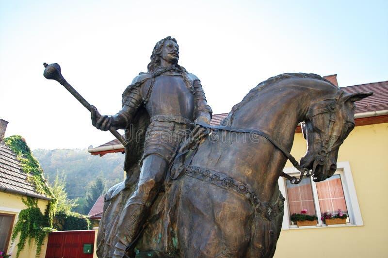¡ Ferenc Rà kà ³ czi Monument lizenzfreie stockbilder