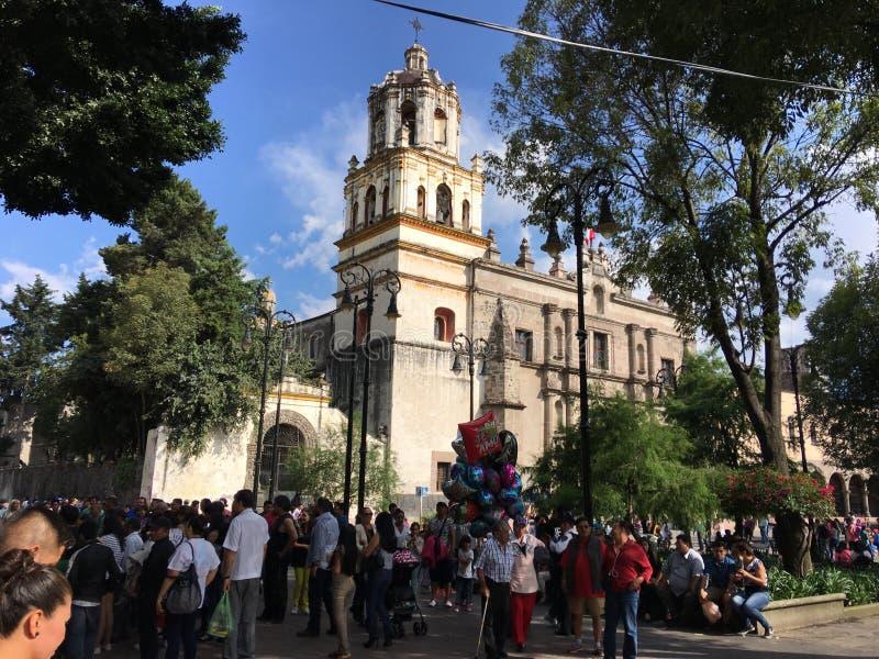¡ N México de Coyoacà imagem de stock royalty free