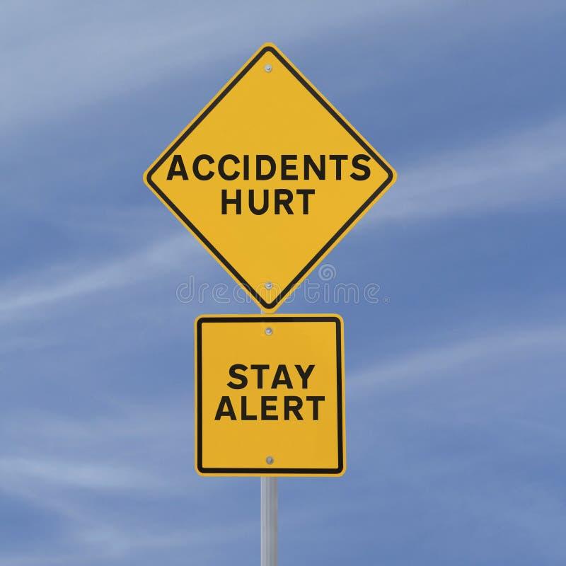 ¡Accidentes lastimados! imágenes de archivo libres de regalías