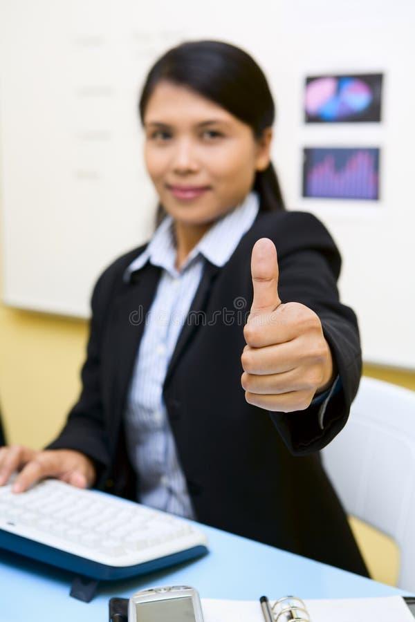Download ¡Bueno! imagen de archivo. Imagen de mujer, sentada, secretaria - 7283749