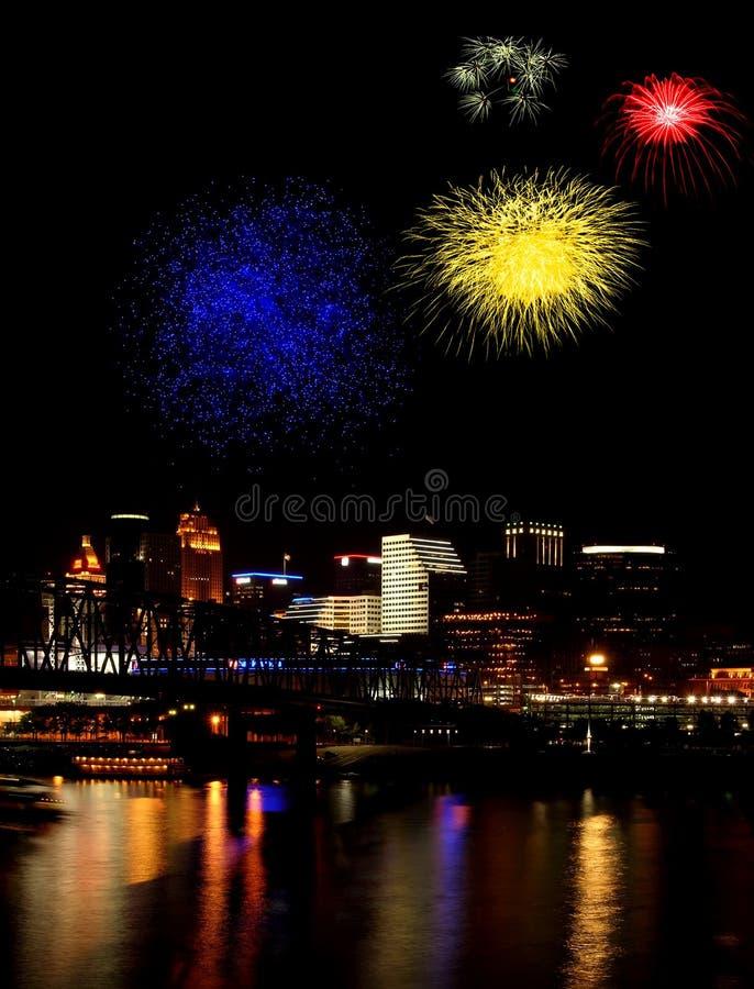 ¡Celebración! imagen de archivo