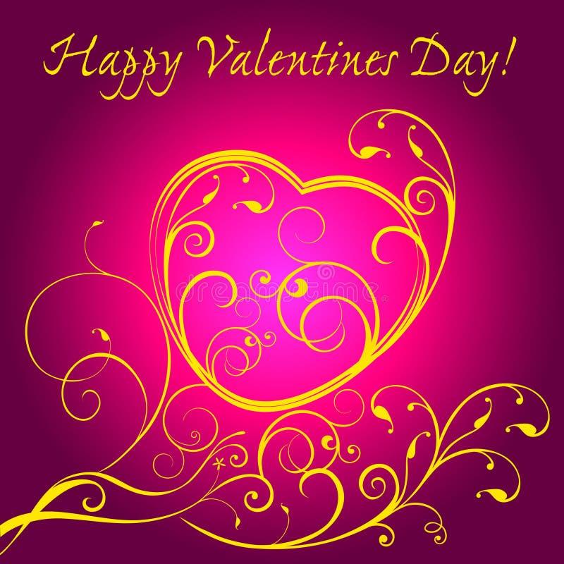 ¡Día de tarjetas del día de San Valentín feliz! libre illustration