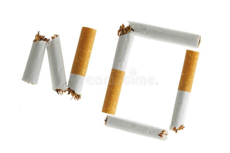 ¡De no fumadores! foto de archivo