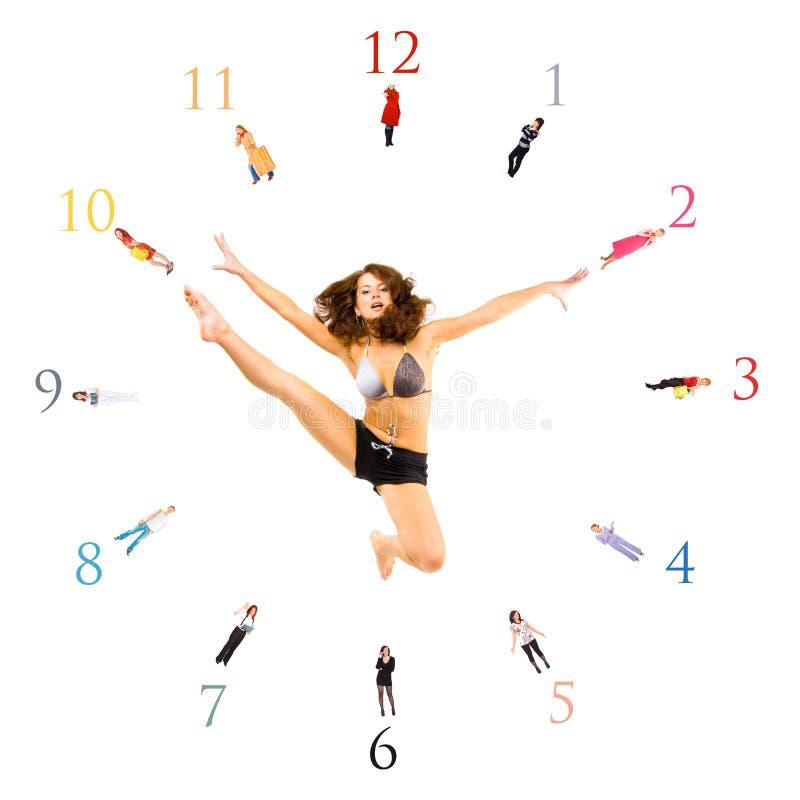 ¡Diez minutos a once! ¡Siempre! imágenes de archivo libres de regalías