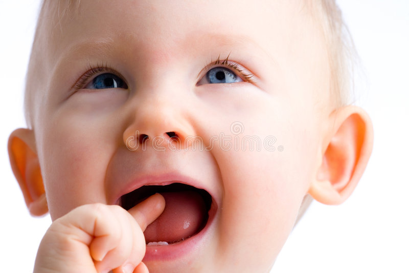 ¡El bebé consiguió idea! imágenes de archivo libres de regalías