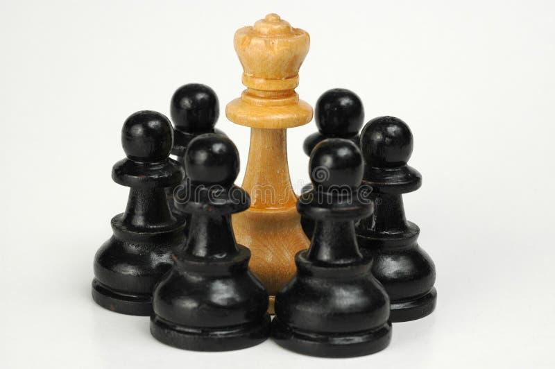 ¡El Rey Es Un Preso! Imágenes de archivo libres de regalías