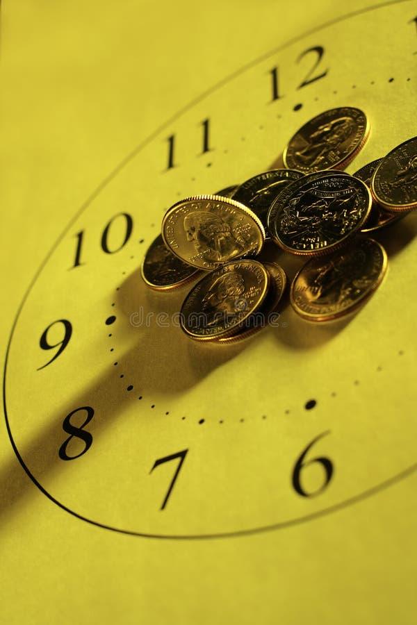¡El tiempo de las noticias! foto de archivo