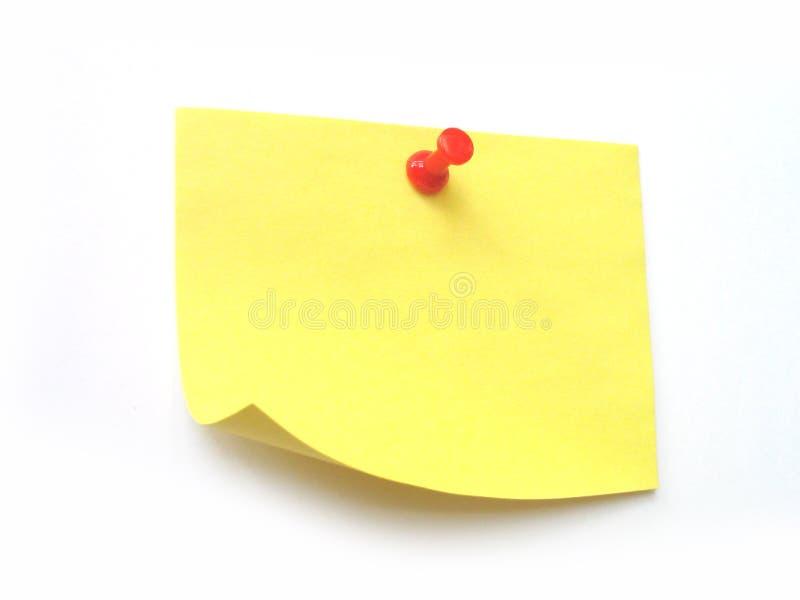 ¡Escriba la nota en ella! fotografía de archivo libre de regalías