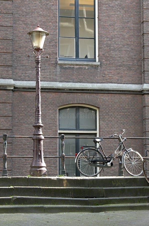 ¡Estacionamiento de la bicicleta! foto de archivo libre de regalías