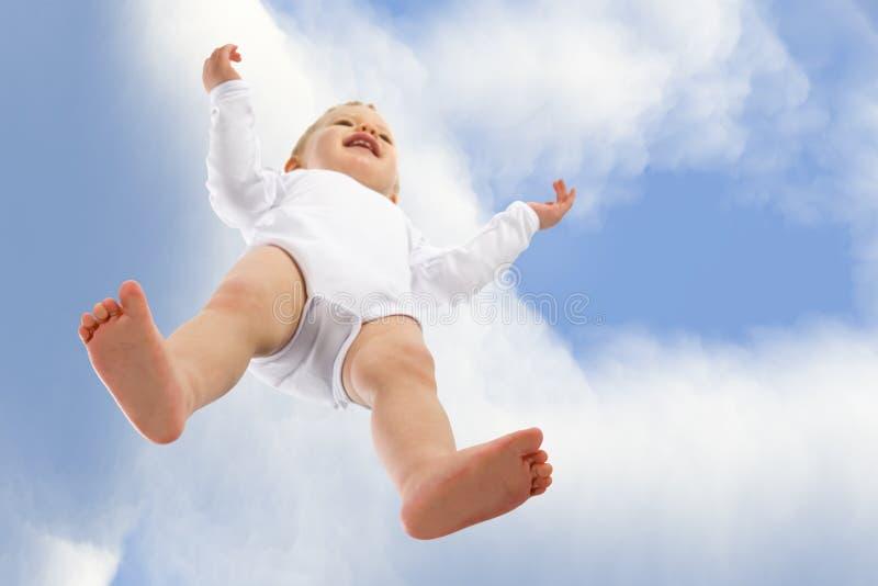 ¡Estoy volando! fotografía de archivo