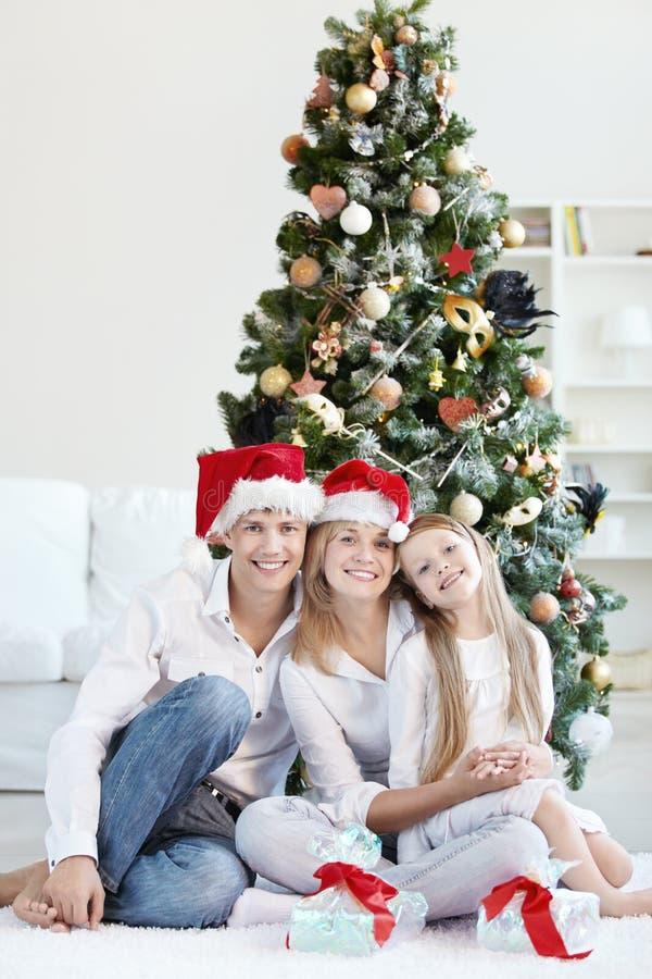¡Feliz Año Nuevo y la Navidad! fotografía de archivo