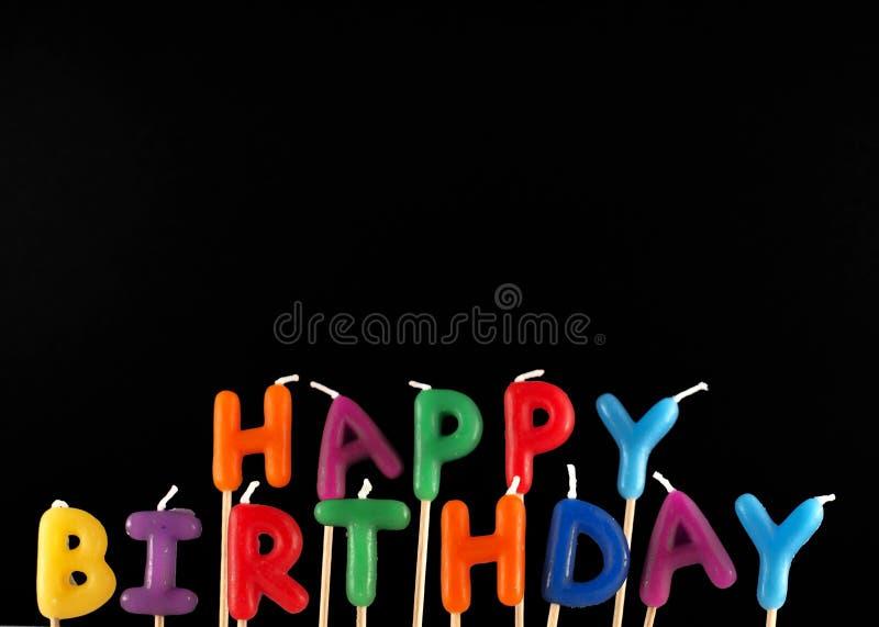 ¡Feliz cumpleaños! fotos de archivo libres de regalías