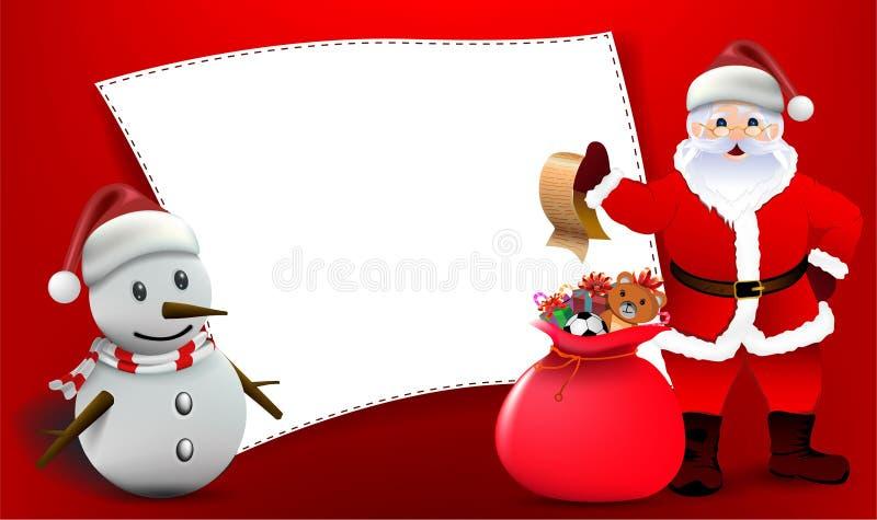 ¡Feliz Navidad! Compañeros de la feliz Navidad libre illustration