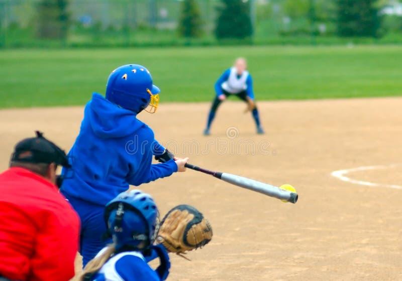 ¡Golpee la bola! fotos de archivo