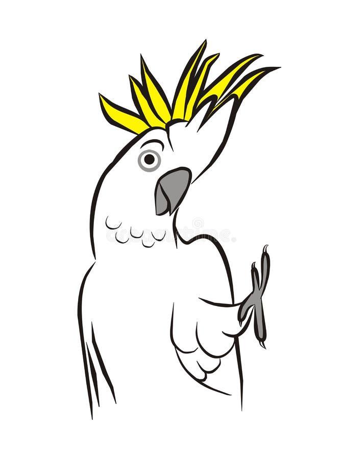 ¡Hola Cockie! ilustración del vector