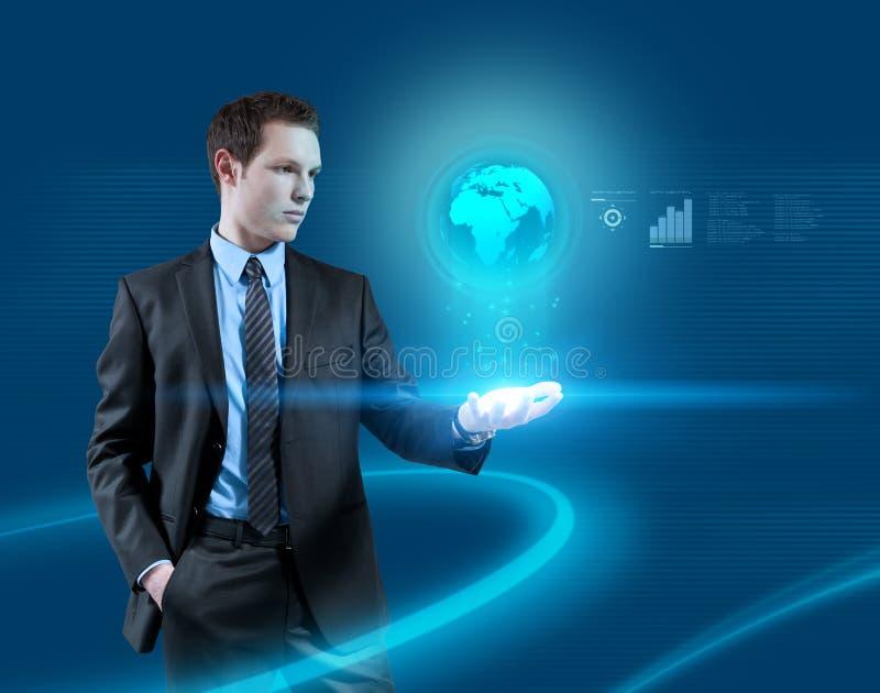 ¡Interfaces! Glowworms en luz stock de ilustración