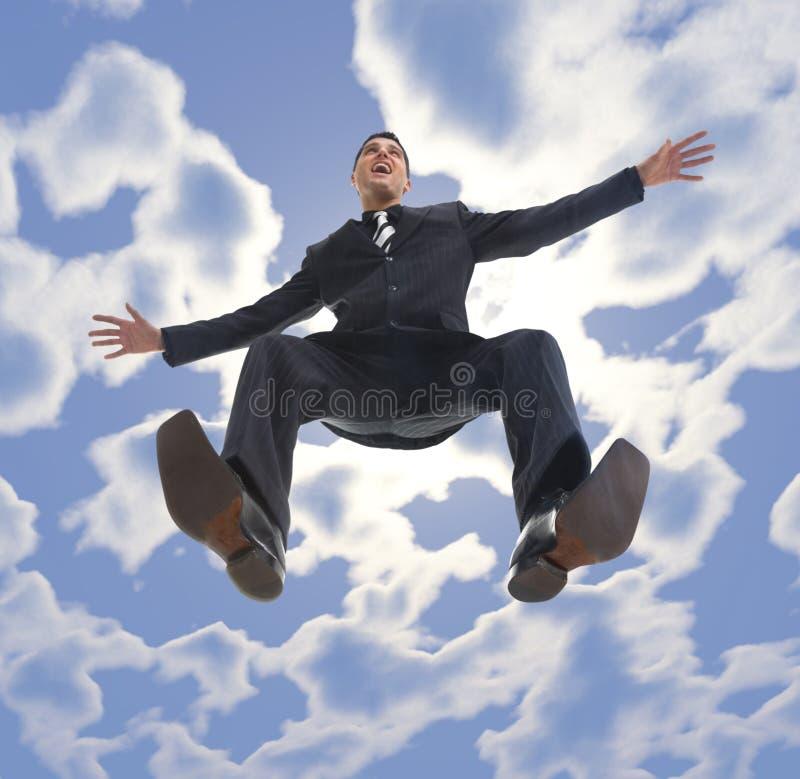 ¡Ir volando! imagen de archivo