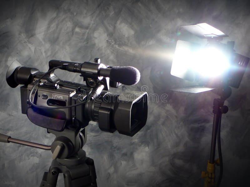 ¡Luces, cámara, acción! imágenes de archivo libres de regalías