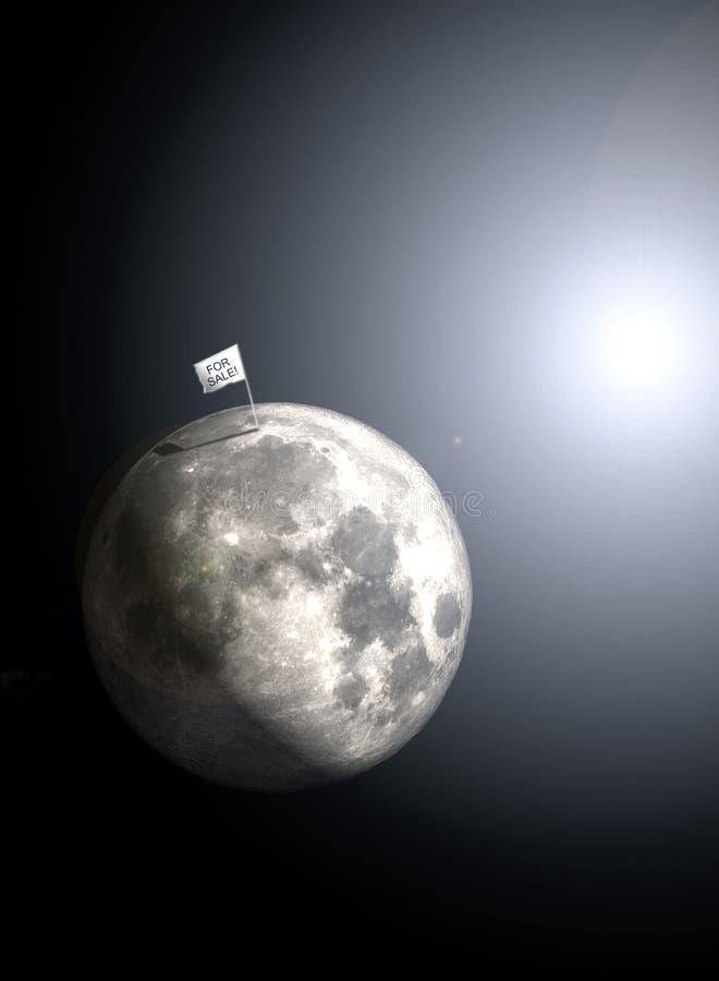 ¡Luna para la venta! fotografía de archivo