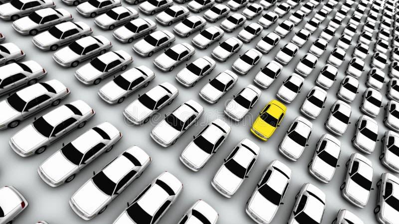 ¡Mi coche es un limón! ilustración del vector