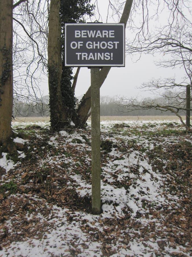 ¡Muestra del fantasma! foto de archivo