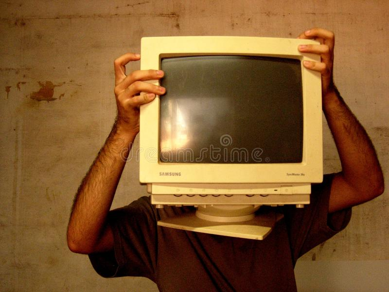 Â¡Nossos olhos são a tecnologia! fotos de archivo libres de regalías