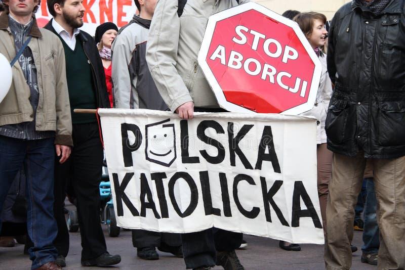 ¡Pare el aborto! fotos de archivo libres de regalías