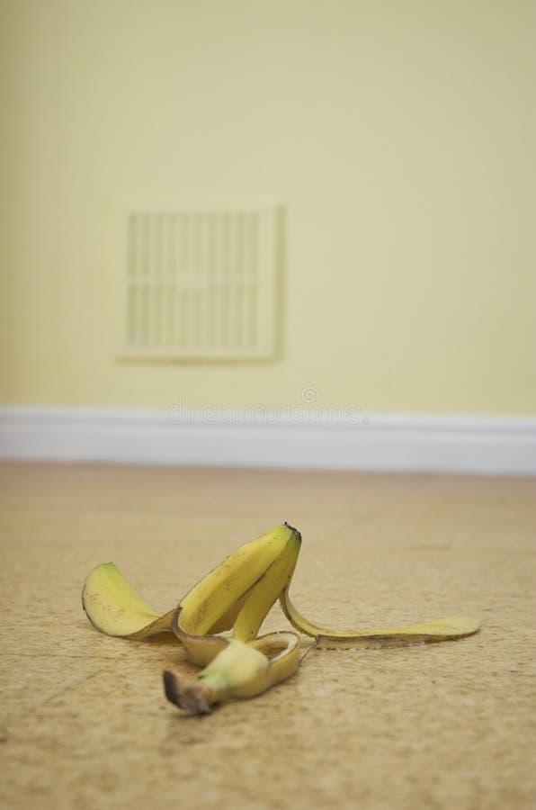 ¡Peligro del plátano! imagen de archivo
