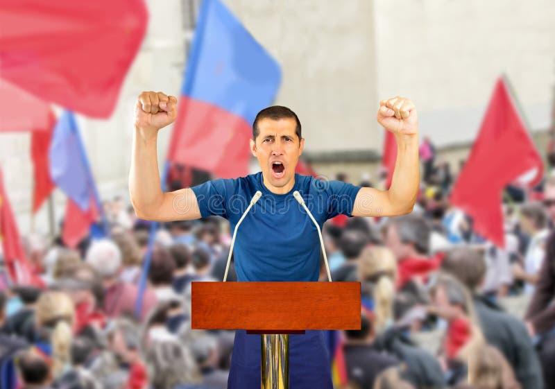 ¡Poder a la gente! imagen de archivo