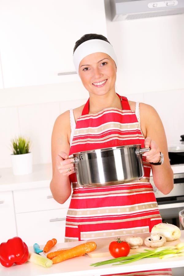 ¡Quiero el cocinar! fotografía de archivo