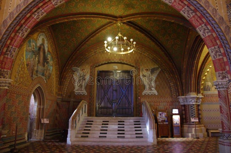 ¡S Templom del tyà del ¡de Mà interior fotografía de archivo