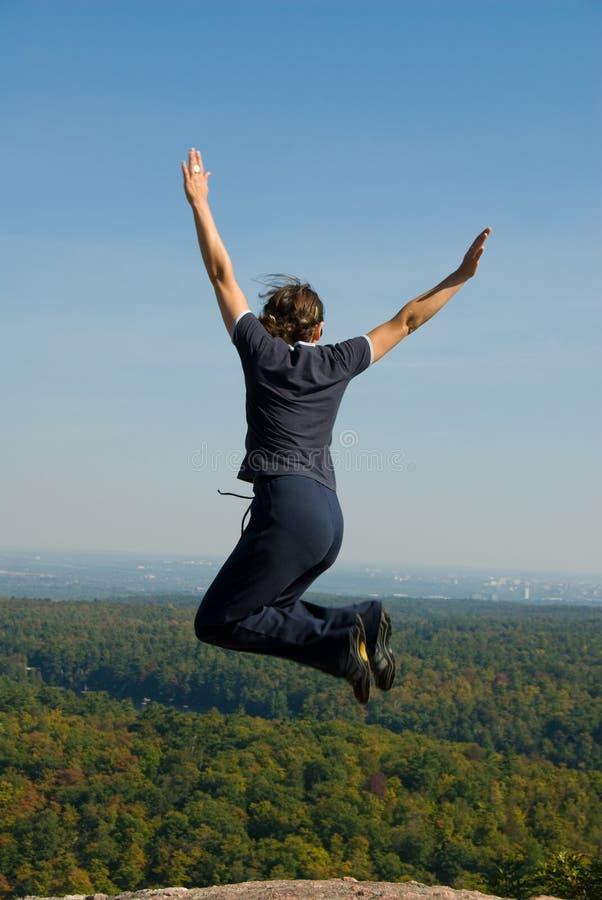 ¡Salto! foto de archivo libre de regalías