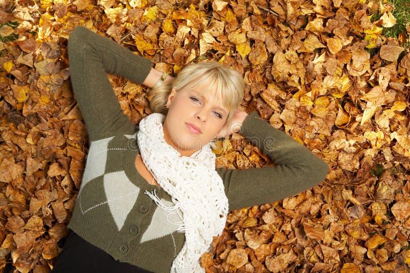 ¡Su otoño! imagen de archivo libre de regalías