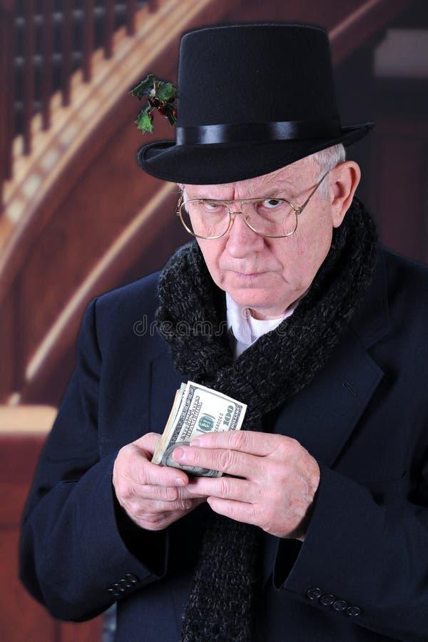 ¡Tacto del ` t de Don mi efectivo! foto de archivo libre de regalías