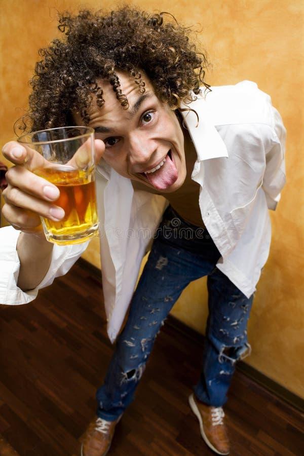 ¡Tenga una bebida! imágenes de archivo libres de regalías