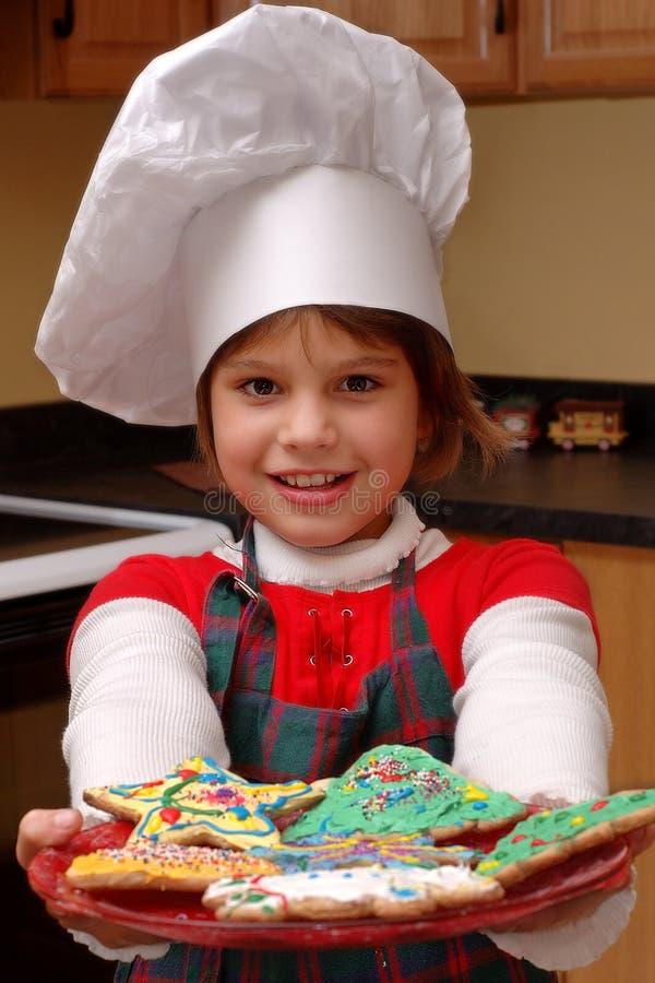 ¡Tenga una galleta! imagen de archivo libre de regalías