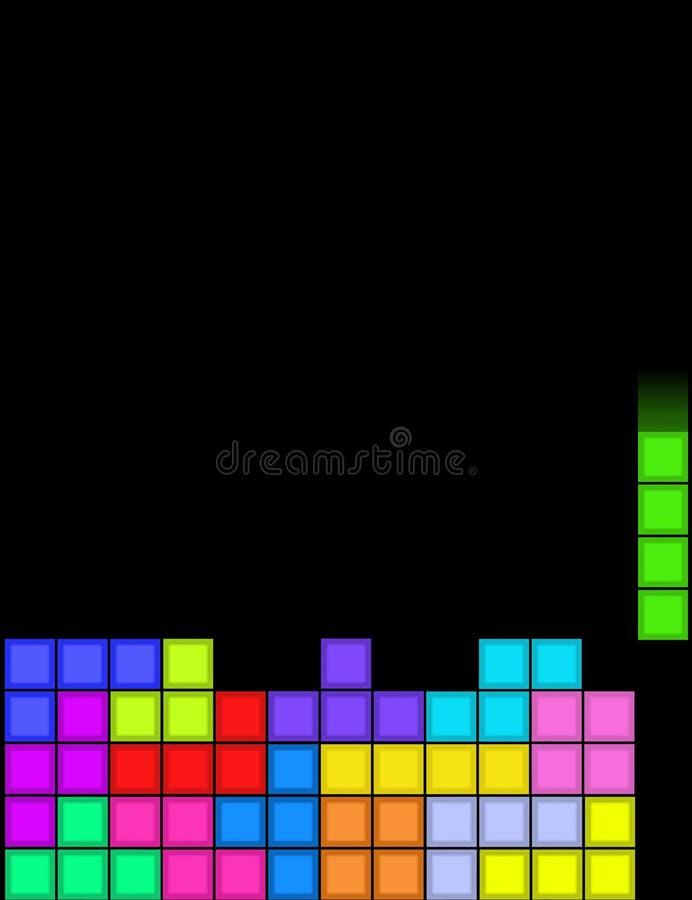 ¡Tetris! stock de ilustración