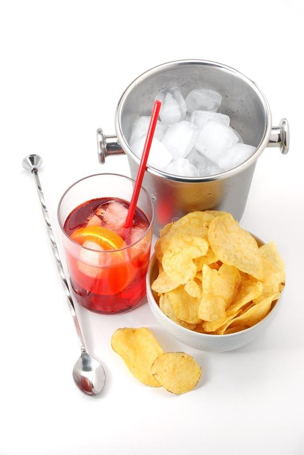¡Tiempo del aperitivo! fotos de archivo