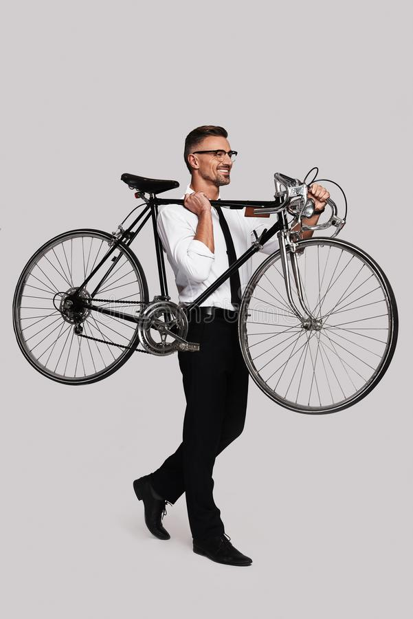 ¡Tome una bici! fotografía de archivo libre de regalías