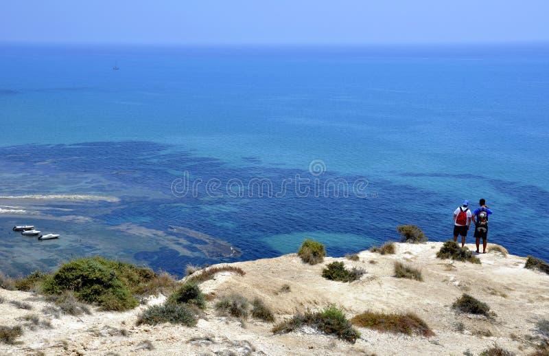 ¡Un qué mar hermoso! fotos de archivo