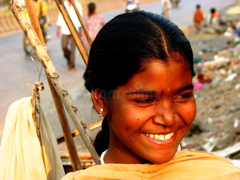 ¡Una qué sonrisa! fotografía de archivo
