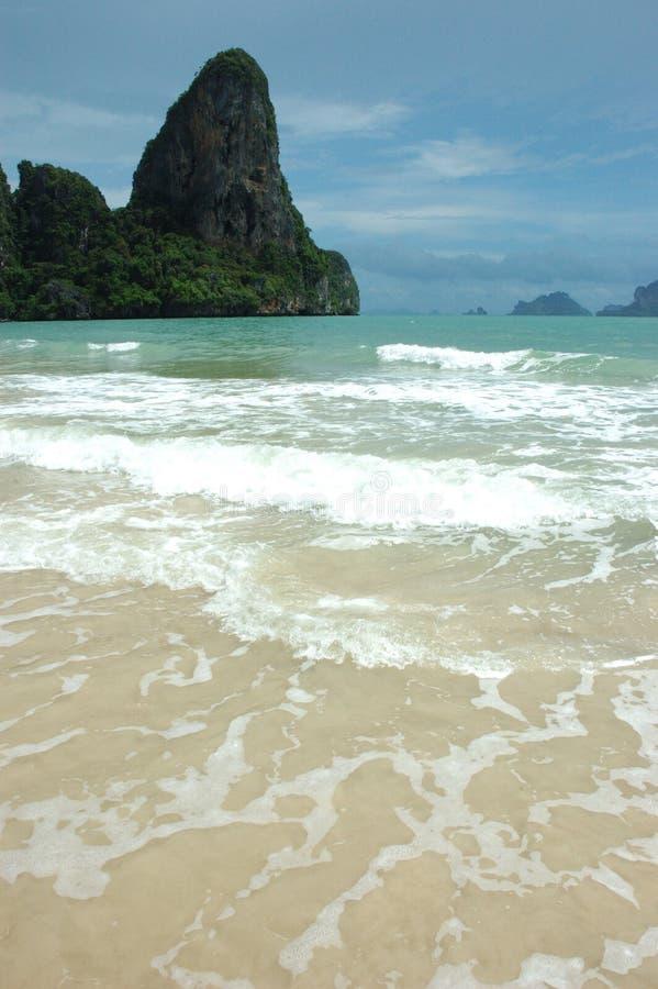 ¡Vacaciones tan perfectas de la playa! foto de archivo