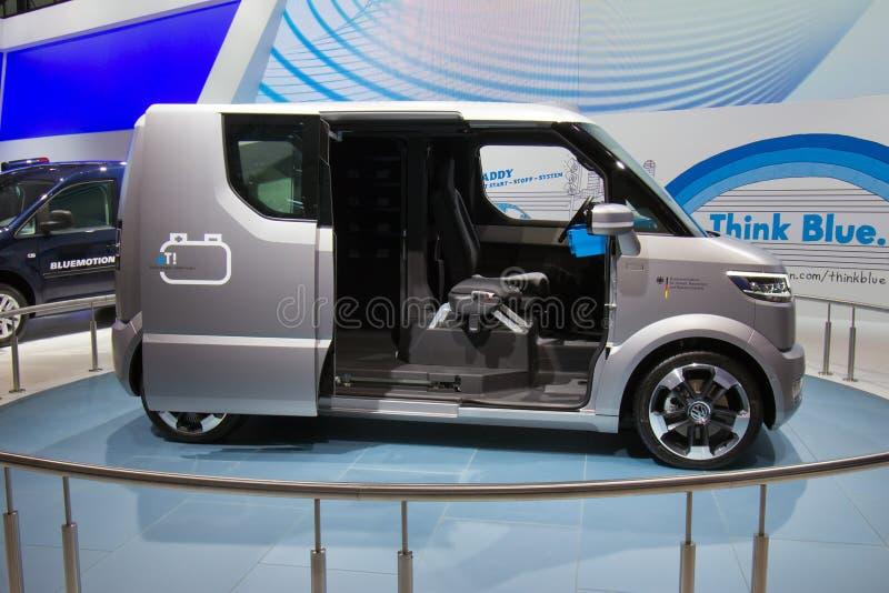 ¡VW y! transportador eléctrico imagenes de archivo