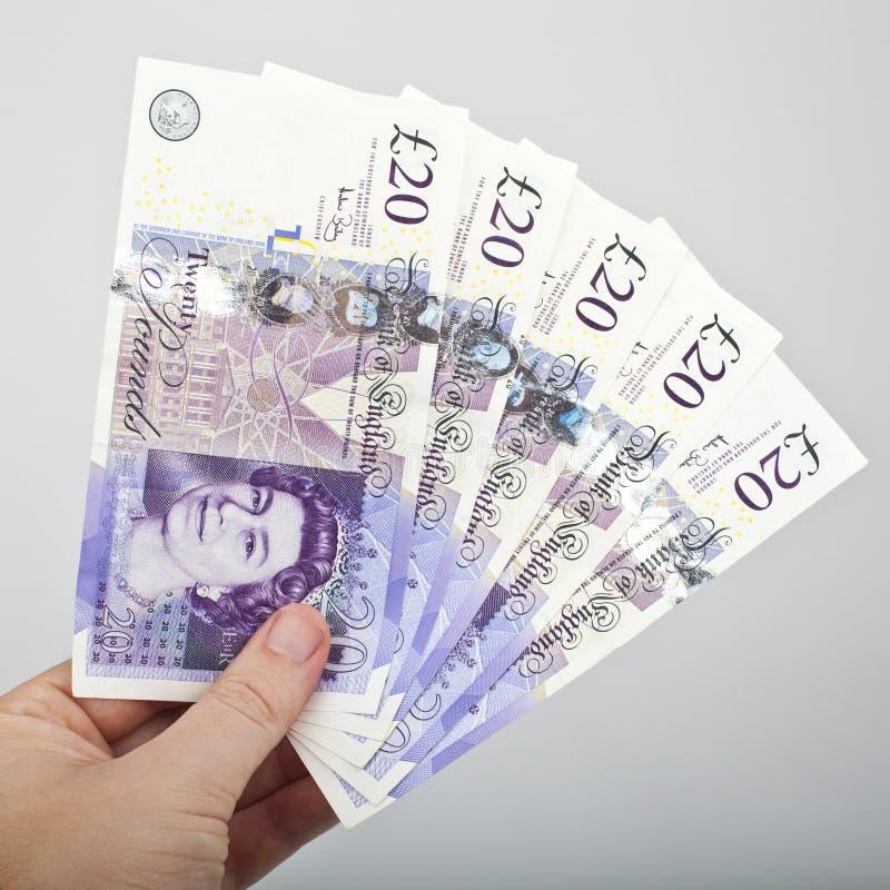 £100 stock foto's
