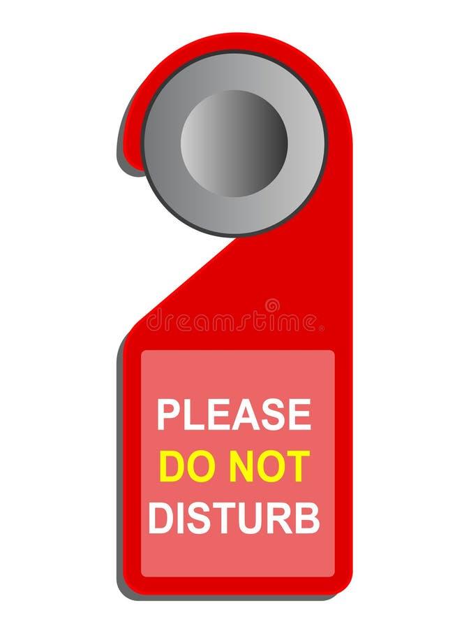 «не нарушьте» знак иллюстрация штока