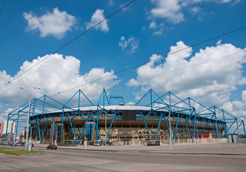 «Stade de Metalist», Kharkov, Ukraine photo libre de droits