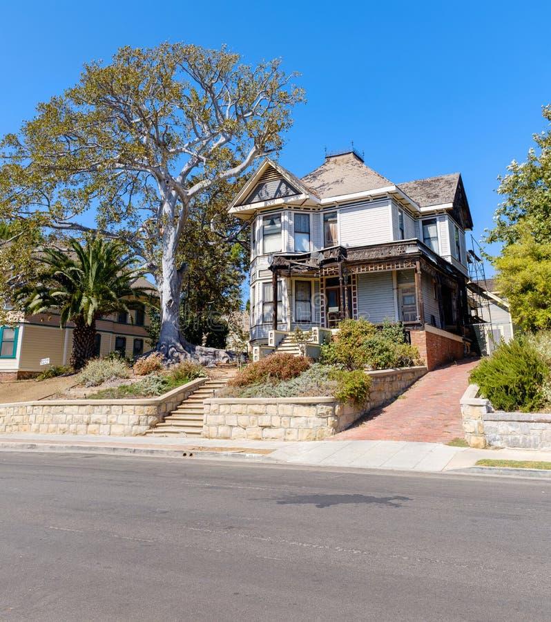 «dreszczowa «dom w Los Angeles obrazy stock