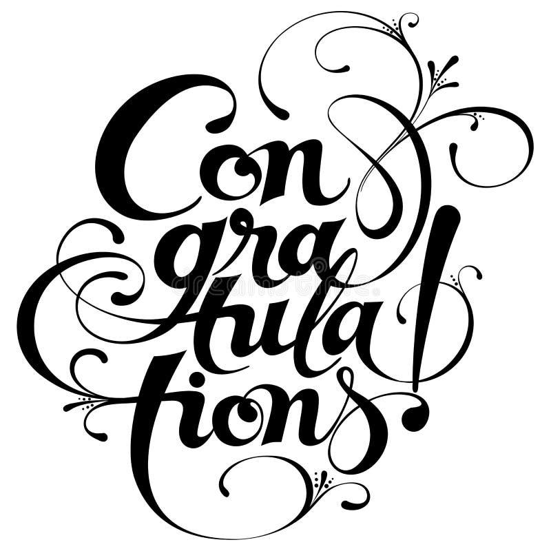 «gratulacje kaligrafia ilustracji
